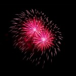 Hochzeits Feuerwerk